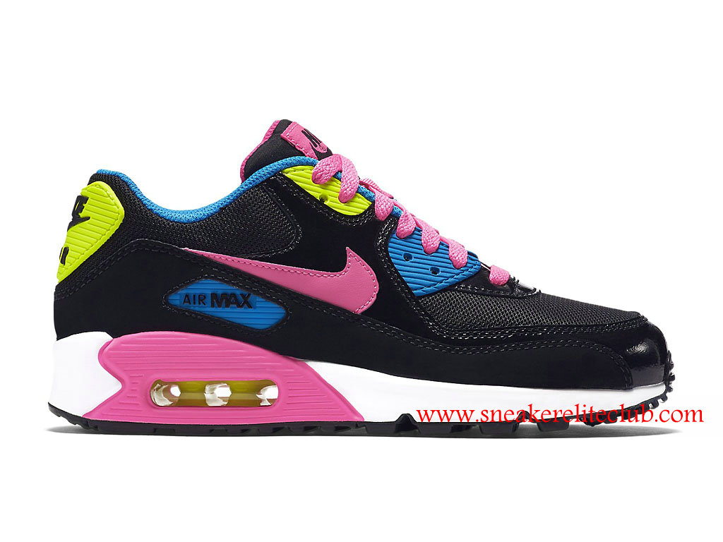 nike air max 90 noir rose