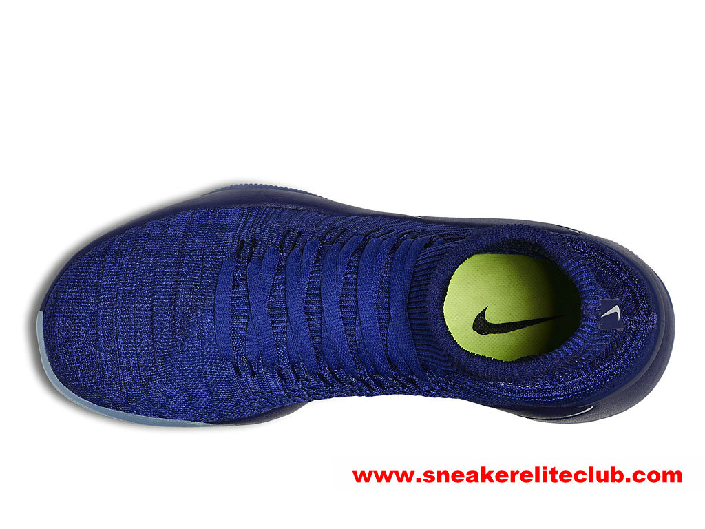 the latest 88f9b 8dd80 ... coupon for chaussures basketball homme nike hyperdunk 2016 flyknit prix  pas cher bleu 843390404 1af13 08fc0