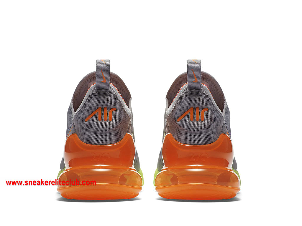 nike air max 270 orange pas cher