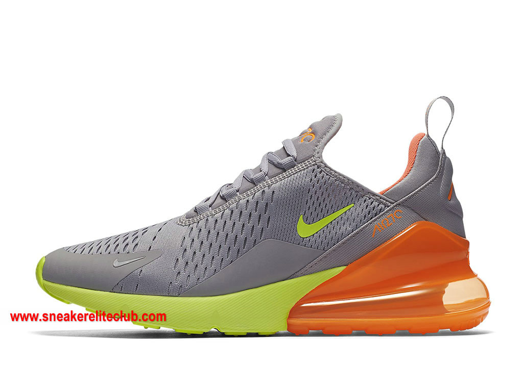 air max 270 homme noir et orange