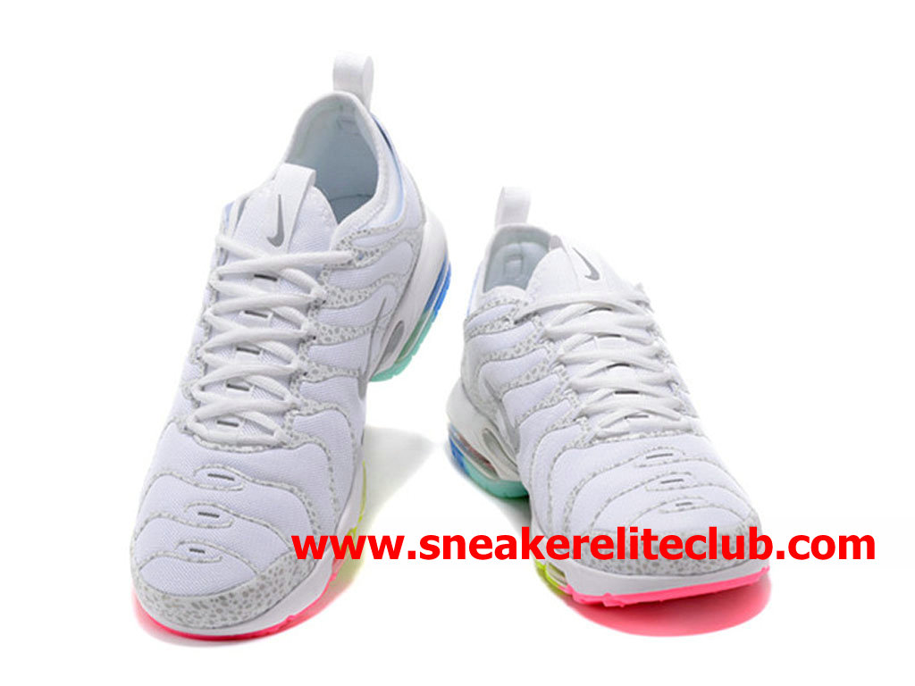 size 40 bed63 c7f1a ... Chaussures Nike Air Max Plus TN Ultra Homme Pas Cher Prix Blanc ...