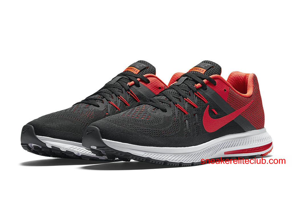 quality design 9950a bed3c ... real chaussures running nike zoom winflo 2 prix pas cher pour homme  rouge noir 7d643 a078a