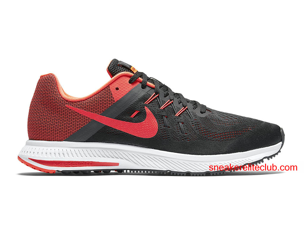 quality design 6540e 7483f ... real chaussures running nike zoom winflo 2 prix pas cher pour homme  rouge noir 7d643 a078a