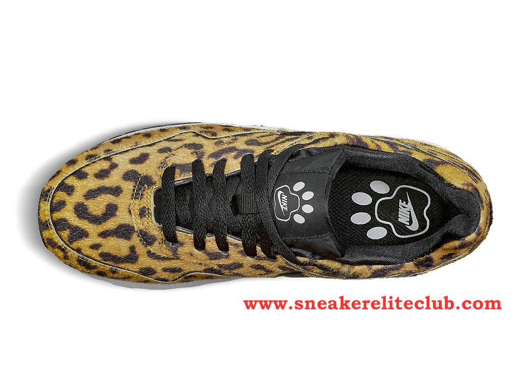 ... Nike Air Max 1 GS Chaussure Pour Femme/Fille Leopard 827657_700 ...