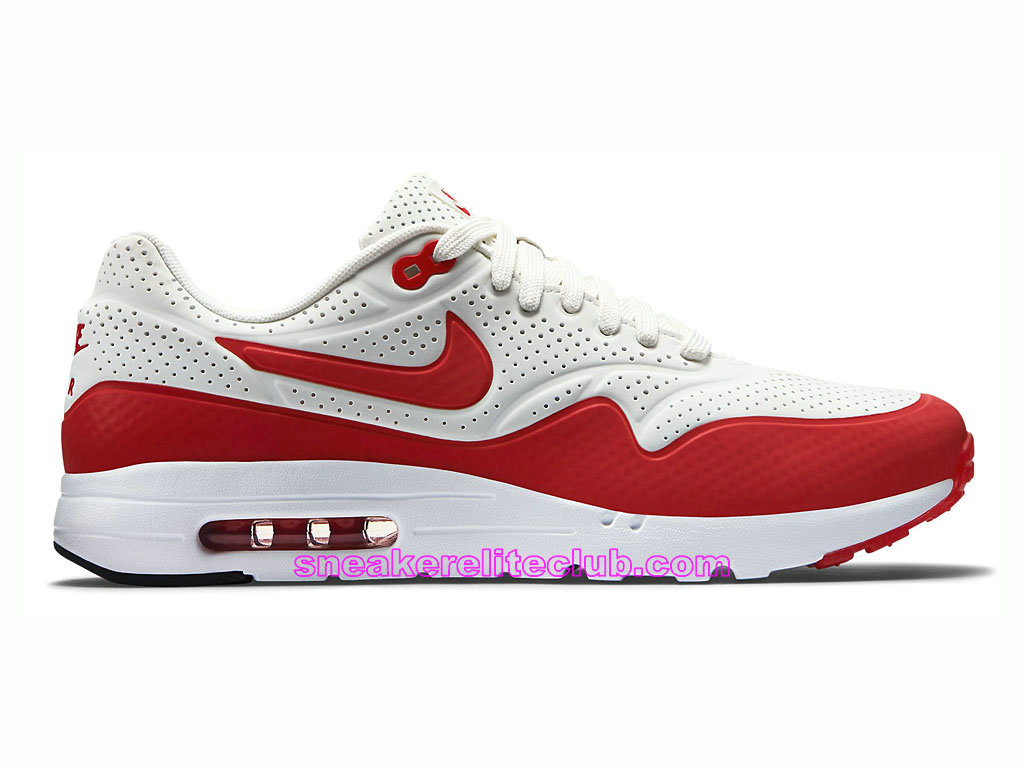 air max 1 blanche rouge