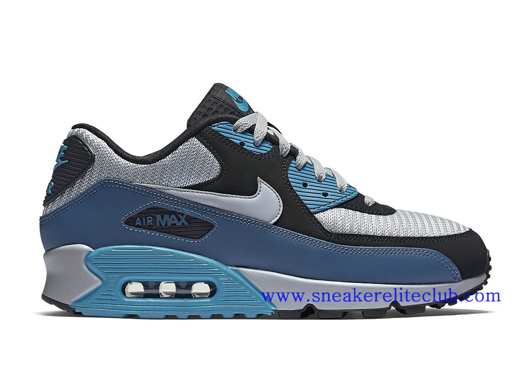 nice cheap get cheap really cheap Nike Air Max 90 Essential Chaussure Homme Pas Cher Bleu Noir Gris ...