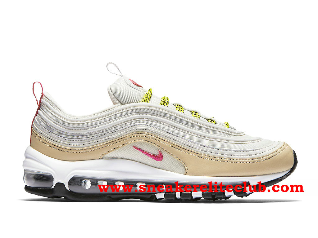 info for f23fc ee5bc ... spain nike air max 97 chaussures de running pas cher prix pour homme  blanc rose e618b