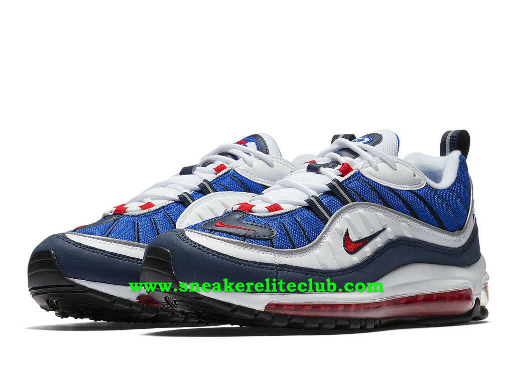 nike air max bleu blanc rouge
