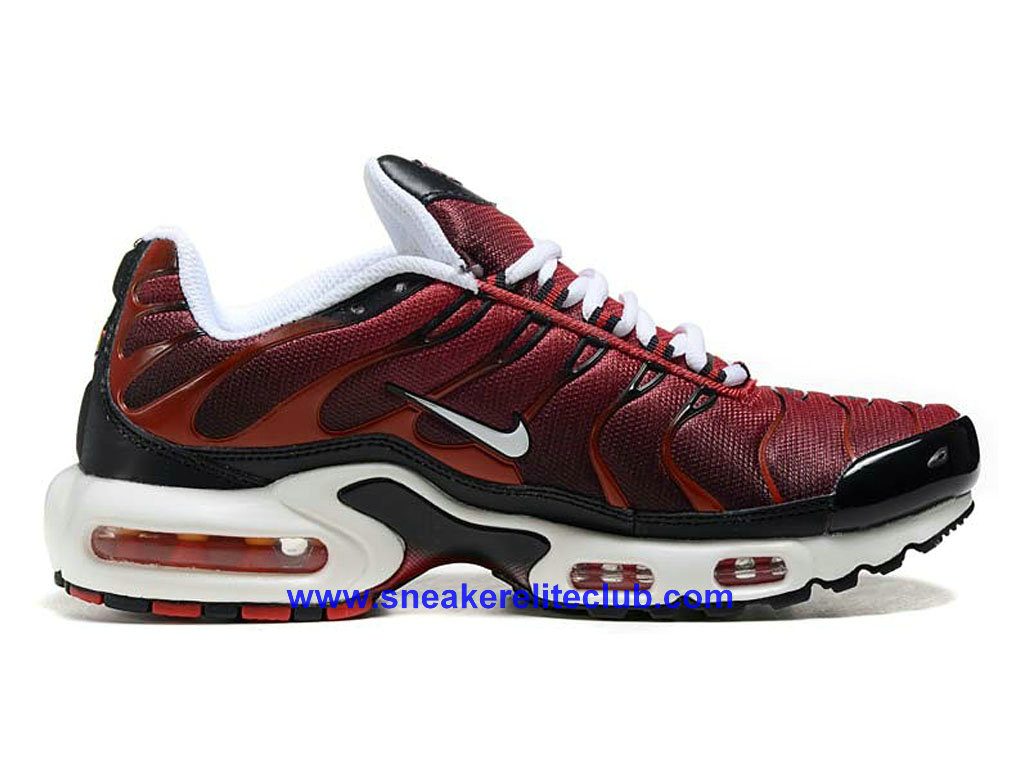 detailed pictures 027ec 0fdac Nike Air Max PlusNike TN 2016 Homme BasketBall Pas Cher RougeNoir ...