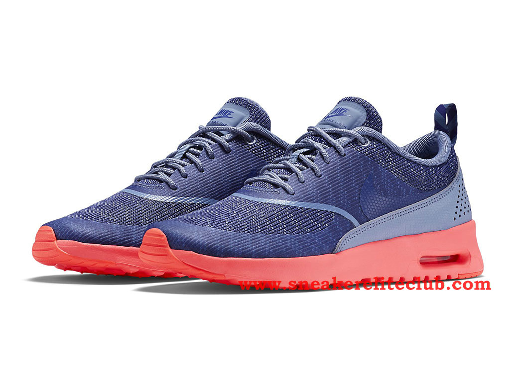 ... Nike Air Max Thea Jacquard Chaussure Pour Femme/Fille Pourpre/Rose 718646_400 ...