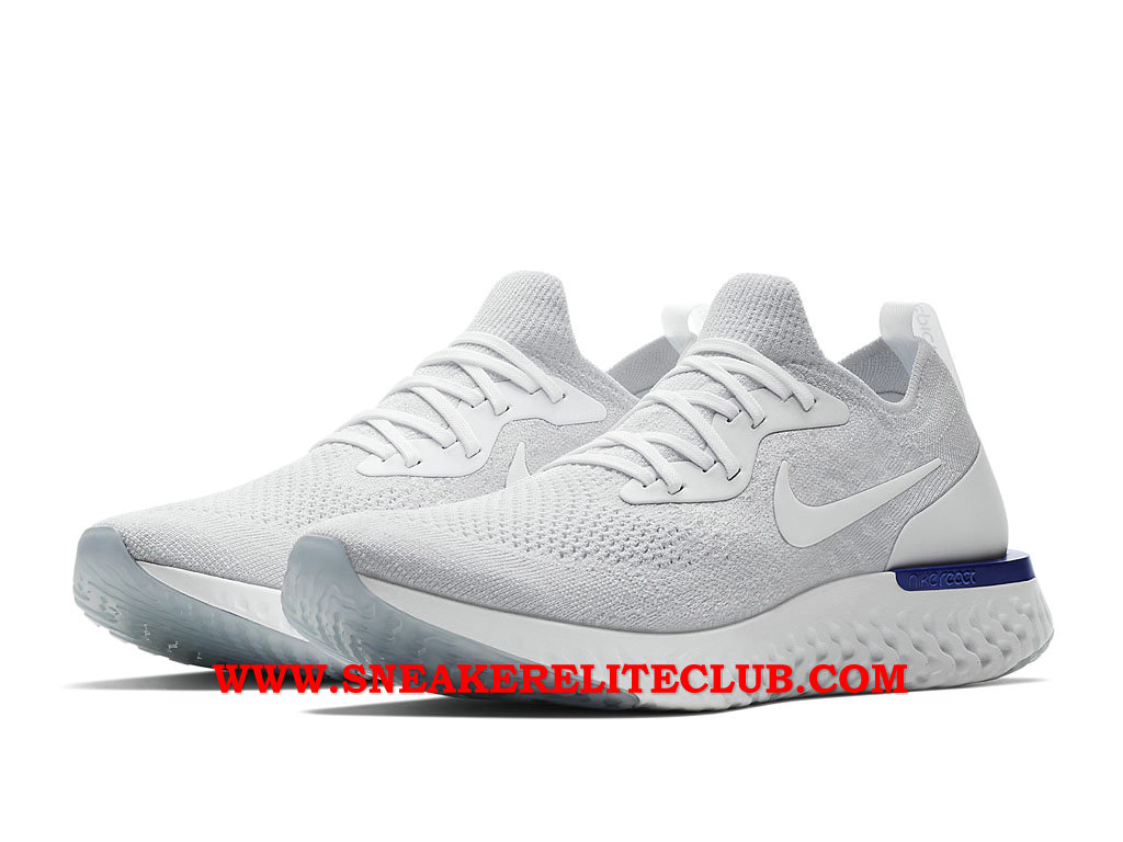 Nike Epic React Flyknit Chaussures Running Pas Cher Prix Pour