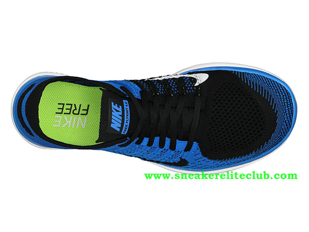 large discount thoughts on cute cheap Nike Free 4.0 Flyknit Chaussure Pour Homme Bleu/Noir 631053-002 ...