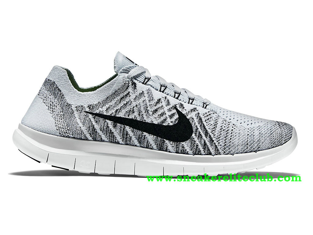 best quality latest discount newest Nike Free 4.0 Flyknit Chaussure Pour Homme Gris/Noir 717075-005 ...