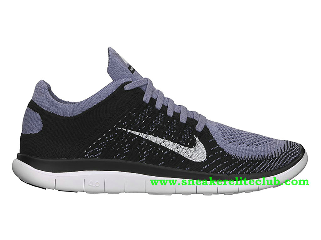 cozy fresh competitive price detailed pictures Nike Free 4.0 Flyknit Chaussure Pour Homme Noir/Gris 631053-501 ...