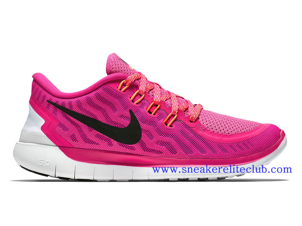 the latest bf9b3 7ff7a ... coupon code for nike free 5.0 gs chaussure running femme rose noir  724383600 b9024 9dc7d