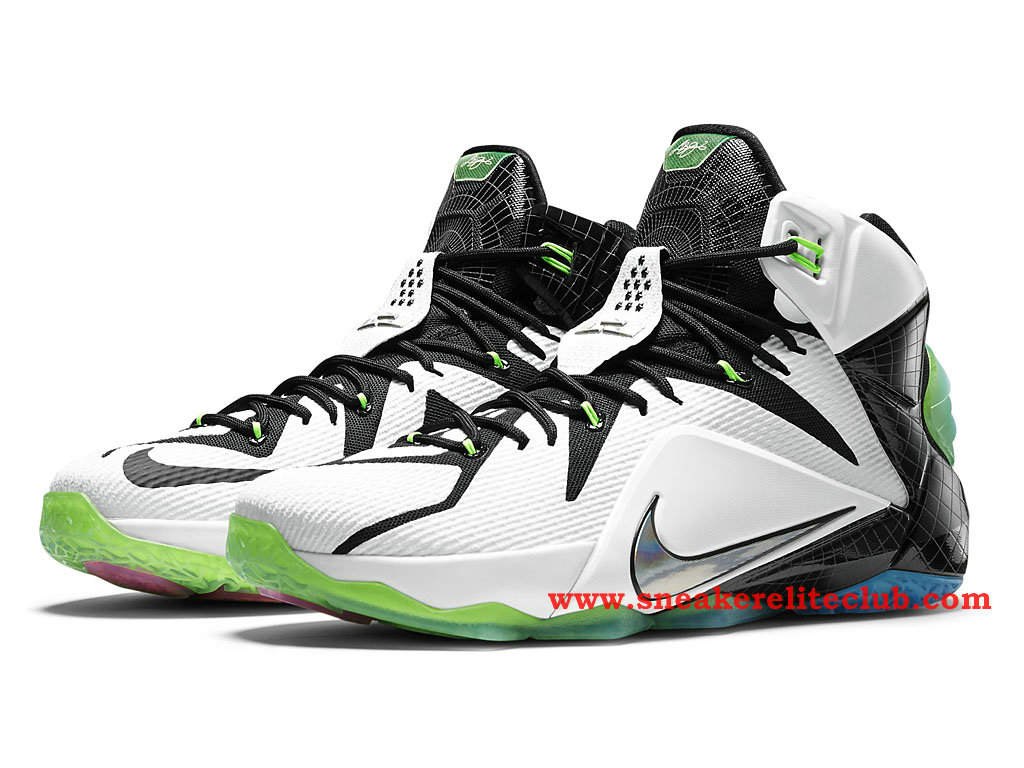 96b24540c446a ... Nike Lebron 12 XII All Star Chaussure Basket Pour Homme White Multi- Color ...