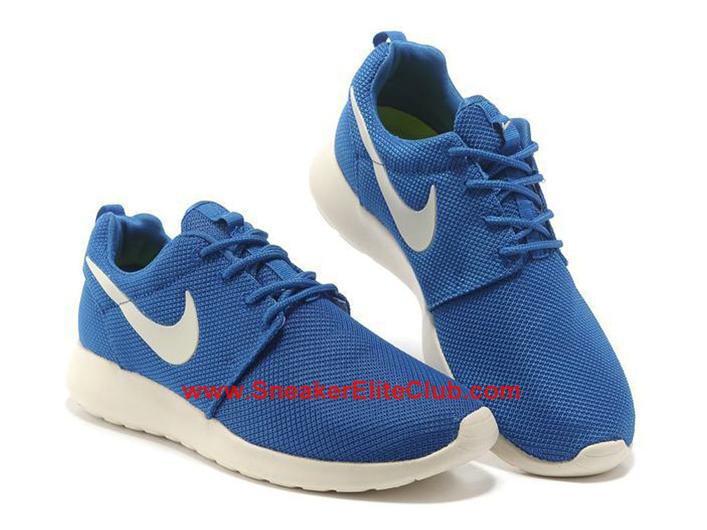 check out 53cf6 27124 ... new zealand nike roshe one chaussures de running pour homme bleu blanc  511881 201 7adce 7d8b7