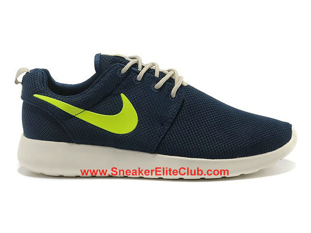 cheap for discount limited guantity shop best sellers Nike Roshe One Chaussures De Running Pour Homme Bleu Vert 511881 ...