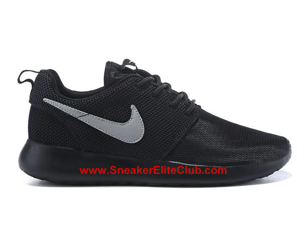 official images hot sale really comfortable Nike Roshe One Chaussures De Running Pour Homme Noir Gris 599728 ...